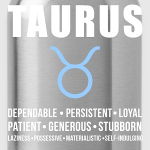 Taurus Zodiac Personality Women's T-Shirts - Water Bottle