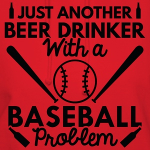 Beer Drinker Baseball - Women's Hoodie