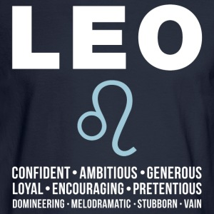 Leo Zodiac Personality Women's T-Shirts - Men's Long Sleeve T-Shirt