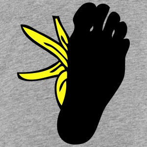 foot on banana skin Kids' Shirts - Toddler Premium T-Shirt