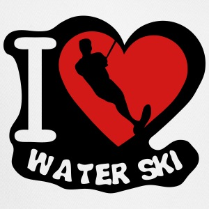 water ski love heart T-Shirts - Trucker Cap