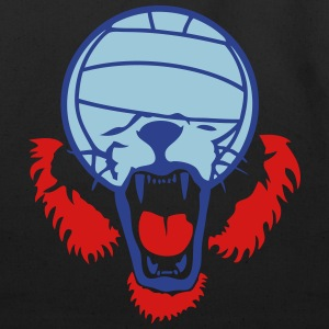volleyball waterpolo ball lion face Long Sleeve Shirts - Eco-Friendly Cotton Tote
