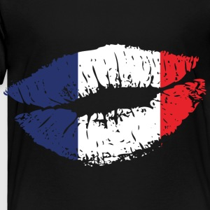 France Mouth Kids' Shirts - Toddler Premium T-Shirt