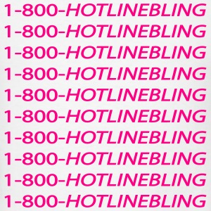 Hotline Bling Long sleeve - Men's T-Shirt