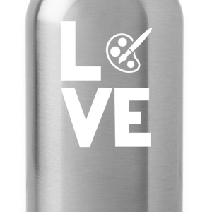 Painting Artist Oil Acryl Love Funny T-Shirt T-Shirts - Water Bottle