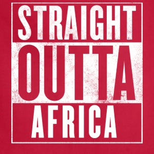 STRAIGHT OUTTA AFRICA Women's T-Shirts - Adjustable Apron