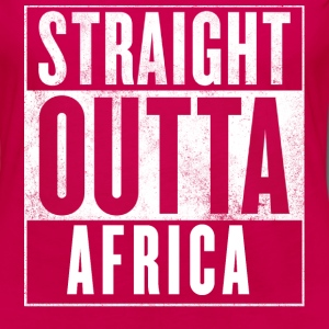 STRAIGHT OUTTA AFRICA Women's T-Shirts - Women's Premium Long Sleeve T-Shirt