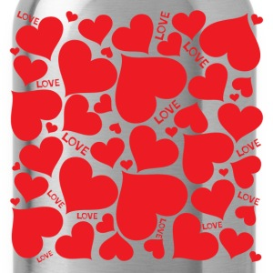 Lovely romantic heartshaped T-Shirts - Water Bottle
