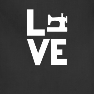 Sewing Machine Love Funny T-Shirt T-Shirts - Adjustable Apron