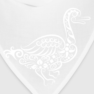 Vivid hand drawn goose decoration pattern T-Shirts - Bandana