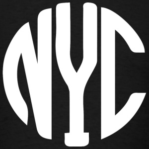 New York City monogram Long Sleeve Shirts - Men's T-Shirt