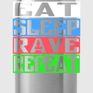 EAT SLEEP RAVE REPEAT - Water Bottle