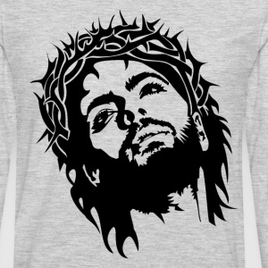 Jesus Christ image T-Shirts - Men's Premium Long Sleeve T-Shirt