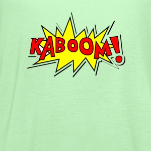 kaboom_t_shirt - Women's Flowy Tank Top by Bella