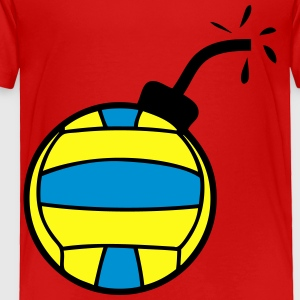 water polo volleyball bomb Kids' Shirts - Toddler Premium T-Shirt