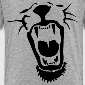 lion roars mouth Kids' Shirts - Toddler Premium T-Shirt