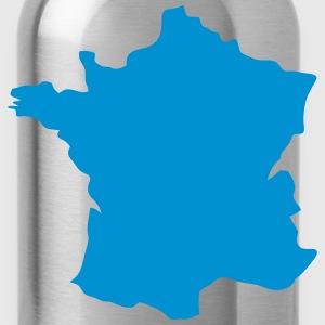 france map 12 T-Shirts - Water Bottle