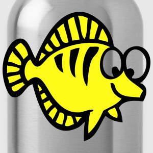 fish drawing 1 T-Shirts - Water Bottle