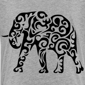 tribal elephant 1207 form Kids' Shirts - Toddler Premium T-Shirt