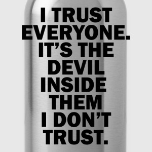 DEVIL INSIDE THEM- FUNNY ITALIAN JOB QUOTES - Water Bottle