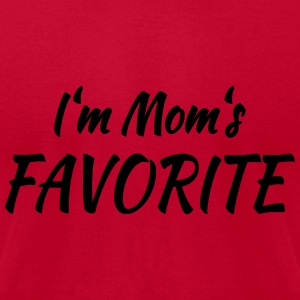I'm mom's favorite Tanks - Men's T-Shirt by American Apparel