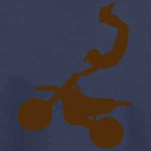 motorcycle cross freestyle moto 100 Kids' Shirts - Toddler Premium T-Shirt