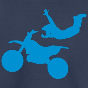 motorcycle cross freestyle moto 14 Kids' Shirts - Toddler Premium T-Shirt