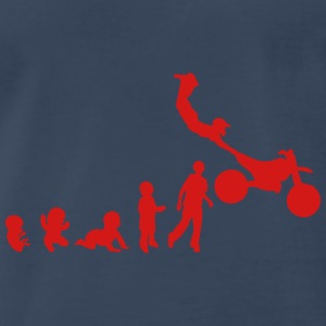 evolution freestyle motocross motorcycle Tanks - Men's Premium T-Shirt