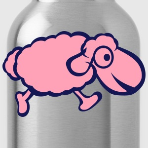 sheep drawing 12 T-Shirts - Water Bottle