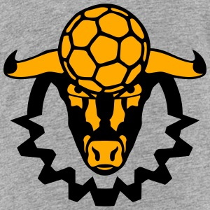 handball bull logo sports ball Kids' Shirts - Toddler Premium T-Shirt