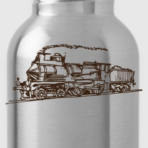 Ancient hand drawn transport vehicle T-Shirts - Water Bottle