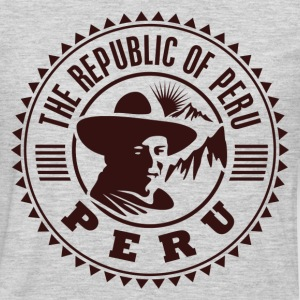 Peru travel stamp T-Shirts - Men's Premium Long Sleeve T-Shirt