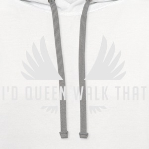 Clash of Clans Queen Walk Gold - Contrast Hoodie