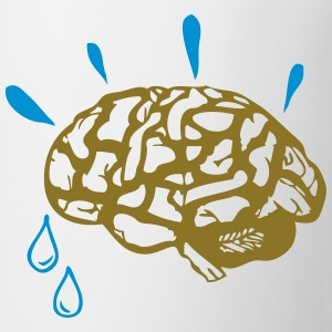 sweat brain T-Shirts - Coffee/Tea Mug
