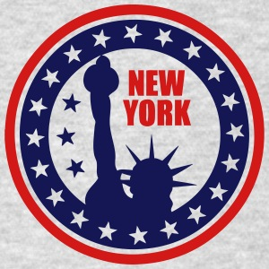 new york statue freedom 1 Long Sleeve Shirts - Men's T-Shirt