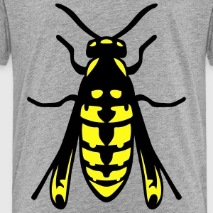 wasp fly insect 1112 Kids' Shirts - Toddler Premium T-Shirt