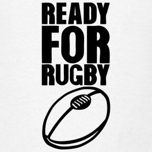 ready for rugby ball Tanks - Men's T-Shirt