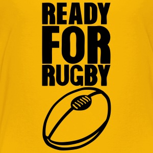 ready for rugby ball Kids' Shirts - Toddler Premium T-Shirt