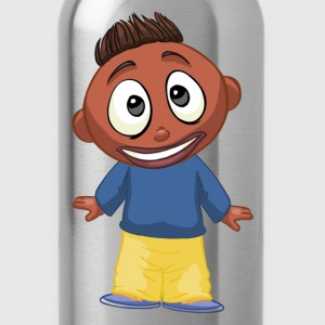 Cartoon children funny T-Shirts - Water Bottle