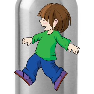 Happy childhood design T-Shirts - Water Bottle