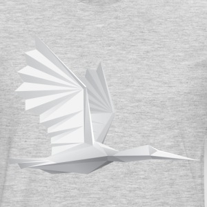 Bird paper art origami T-Shirts - Men's Premium Long Sleeve T-Shirt
