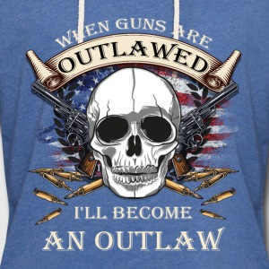 Gun Rights - Outlaw - Unisex Lightweight Terry Hoodie