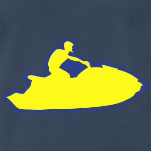 jet ski freestyle drawing traces 1 Tanks - Men's Premium T-Shirt