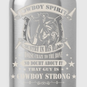 Lifestyle / Cowboy - Cowboy Strong - Water Bottle