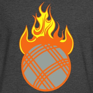 petanque flame fireball 1110 T-Shirts - Men's Long Sleeve T-Shirt