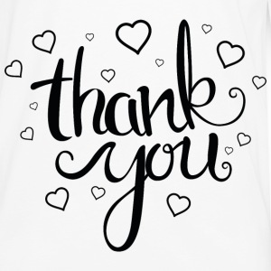 Thank You - Men's Premium Long Sleeve T-Shirt