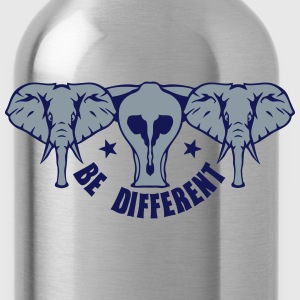 be different elephant 9 Kids' Shirts - Water Bottle