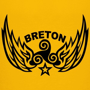 breton wing logo triskel 1107 Kids' Shirts - Toddler Premium T-Shirt