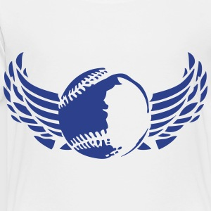 1007 ball baseball wing Kids' Shirts - Toddler Premium T-Shirt