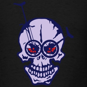 skull unicycle eye deadhead 1 Long Sleeve Shirts - Men's T-Shirt